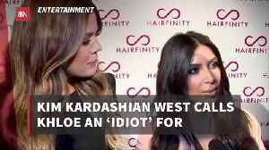 Kim Kardashian Isn't Holding Back On Words With Her Sister Khloe [Video]