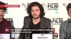Kit Harrington Brought Game Of Thrones Home [Video]