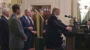 News video: Clemson Tigers White House Visit: The Highlights