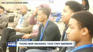 Young men work to break their own barriers [Video]