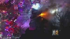 Crews Battling Fire In Paterson [Video]