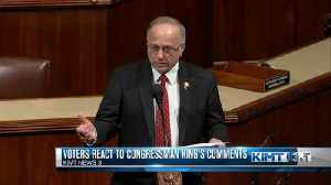 Steve King under fire for comments in the New York Times [Video]