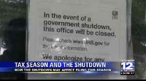 Tax Season and the Partial Government Shutdown [Video]