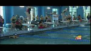 VISD Girls Swimming District Preview [Video]