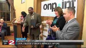 On Point students receive laptops [Video]