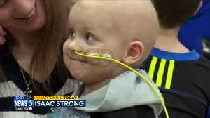 Isaac Strong: Janesville Craig students raise $10,000 to benefit 4-year-old with neuroblastoma [Video]