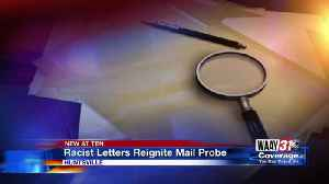 Racist letters reignite mail probe [Video]
