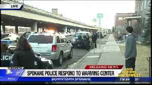 Staff member stabbed at downtown Spokane warming center [Video]
