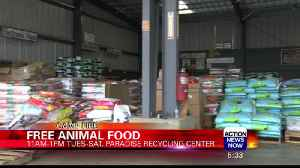 Paradise Animal Control Gives Away Free Pet Food [Video]