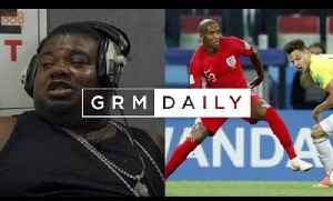 Big Narstie makes reporting debut, goes LIVE for England v Colombia | Rapper to Reporter [Video]
