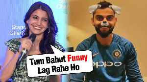 Anushka Sharma CAN'T STOP Laughing At Hubby Virat Kohli In A FUNNY Instagram Video [Video]
