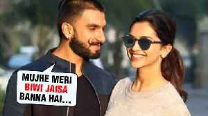 Ranveer Singh Follows Footsteps Of Wife Deepika Padukone? [Video]