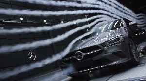 The new Mercedes-Benz CLA Edition wind tunnel [Video]