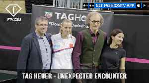 Petra Kvitova for TAG Heuer in An Unexpected Encounter on Tennis Court | FashionTV | FTV [Video]