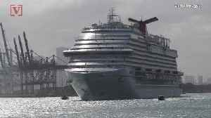 Passengers Injured While On A Carnival Cruise After Ship Unexpectedly Tilted Are Suing [Video]