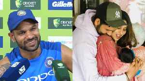 Shikhar Dhawan has advice for young dad Rohit Sharma [Video]