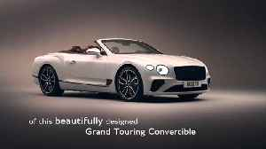 Bentley Continental GT Convertible Expert Insight Maria Mulder - Tweed roof [Video]
