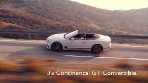 Bentley Continental GT Convertible Expert Insight Marine Godot - Materials [Video]