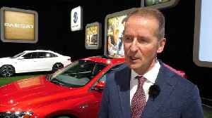 Interview Dr. Diess about Volkswagen's cooperation with Ford [Video]