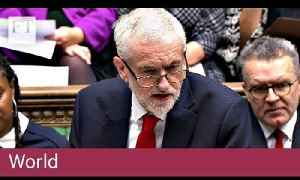 Jeremy Corbyn tables vote of no confidence in the government [Video]
