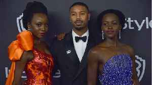 'Black Panther' Stars Michael B. Jordan And Lupita Nyong'o Squash Dating Rumors [Video]