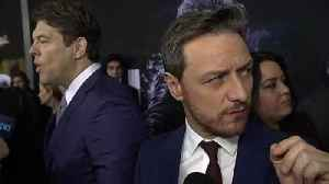 James McAvoy Is Afraid Of Disapproval At 'Glass' Premiere [Video]