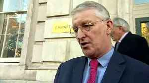 Brexit Select Committee Chair Hilary Benn meets ministers [Video]