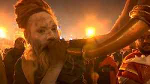 Ash-smeared holy men attend India's Kumbh Mela [Video]