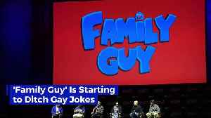 'Family Guy' Is Starting to Ditch Gay Jokes [Video]