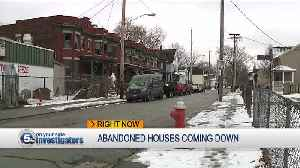 Finally! Vacant homes coming down after decades [Video]