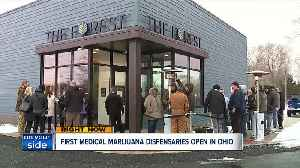 4-month delay comes to an end as first patients buy medical marijuana at 4 dispensaries [Video]