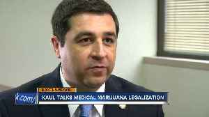 Attorney General Josh Kaul advocates for legalizing medical marijuana [Video]