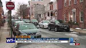 Woman carjacked at gunpoint in Federal Hill [Video]