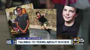 Grieving families teaming up with lawmakers to tackle teen suicide prevention [Video]