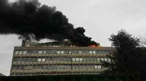 Smoke Billows From Fire at Lyon University Building [Video]
