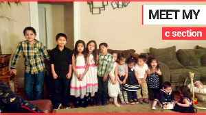 Woman with 13 kids including three sets of twins has given them all names beginning with C [Video]