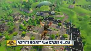 Fortnite security flaw let hackers access your account,  eavesdrop on your in-game conversations [Video]