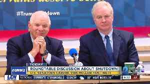 Two U.S. Maryland senators will hear from local small businesses impacted by the shutdown [Video]