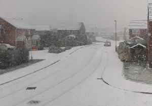 Newcastle City Council Warns Locals as Snow Covers Roads [Video]