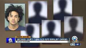 Six Broward County teens face auto burglary charges in Boca Raton [Video]