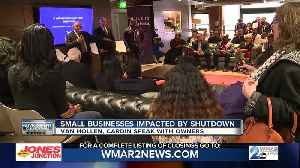 Small businesses feeling impact of government shutdown [Video]