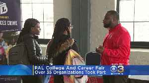 Police Athletic League Hosts College And Career Fair [Video]