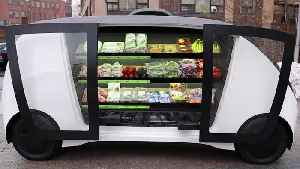 Self-driving vehicles set to deliver groceries [Video]
