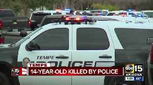 Teen who had replica gun shot and killed by Tempe police [Video]