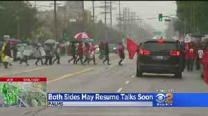 Both Sides Urged To Return To Talks As LA Teachers Strike Stretches To 3rd Day [Video]