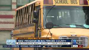 Baltimore County implements new program to solve school bus overcrowding [Video]