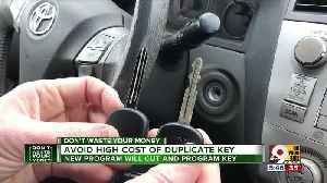 Avoid high cost of duplicate car key [Video]