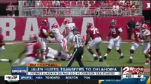 News video: Former SEC Offensive Player of the Year Jalen Hurts transfers from Alabama to Oklahoma