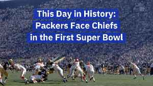 The Packers Faced The Chiefs In First Super Bowl: This Day In History [Video]