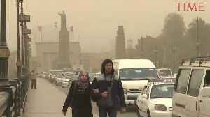Strong Weather Front Batters Middle East With Sandstorms, Hail and Rain [Video]